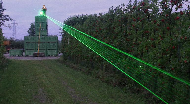 Лазерный отпугиватель птиц