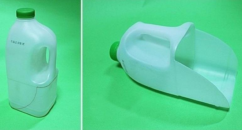 Совок из пластиковой бутылки
