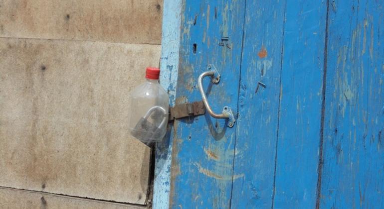 Защитный чехол для замков из пластиковой бутылки