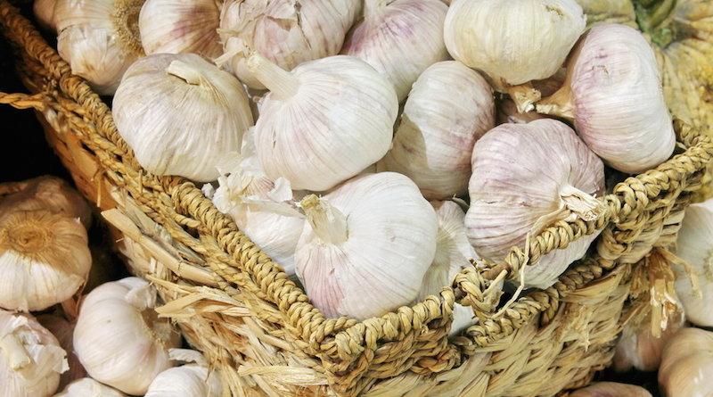 Длительное хранение чеснока в луковой шелухе