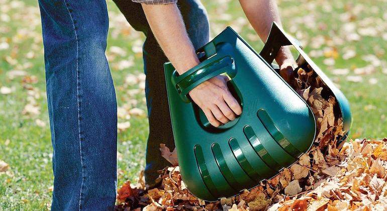 Накладки на руки для сбора листьев