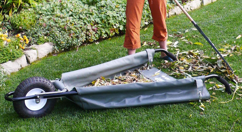 Складная тележка для сада и огорода
