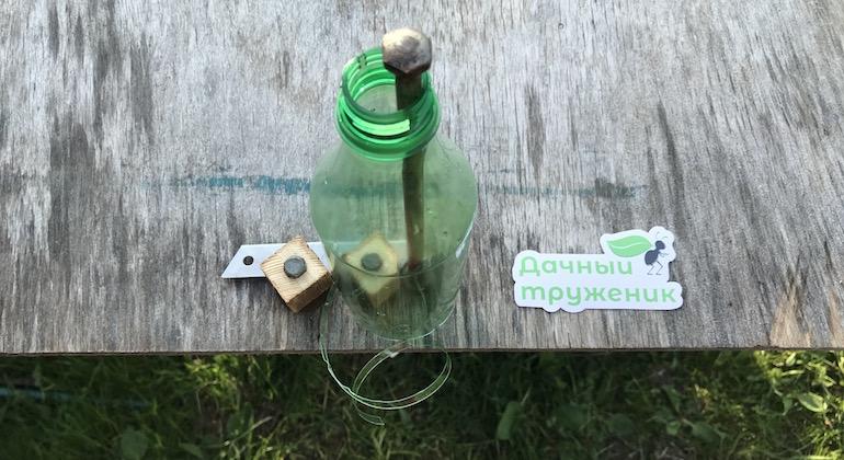 Делаем нить из пластиковой бутылки